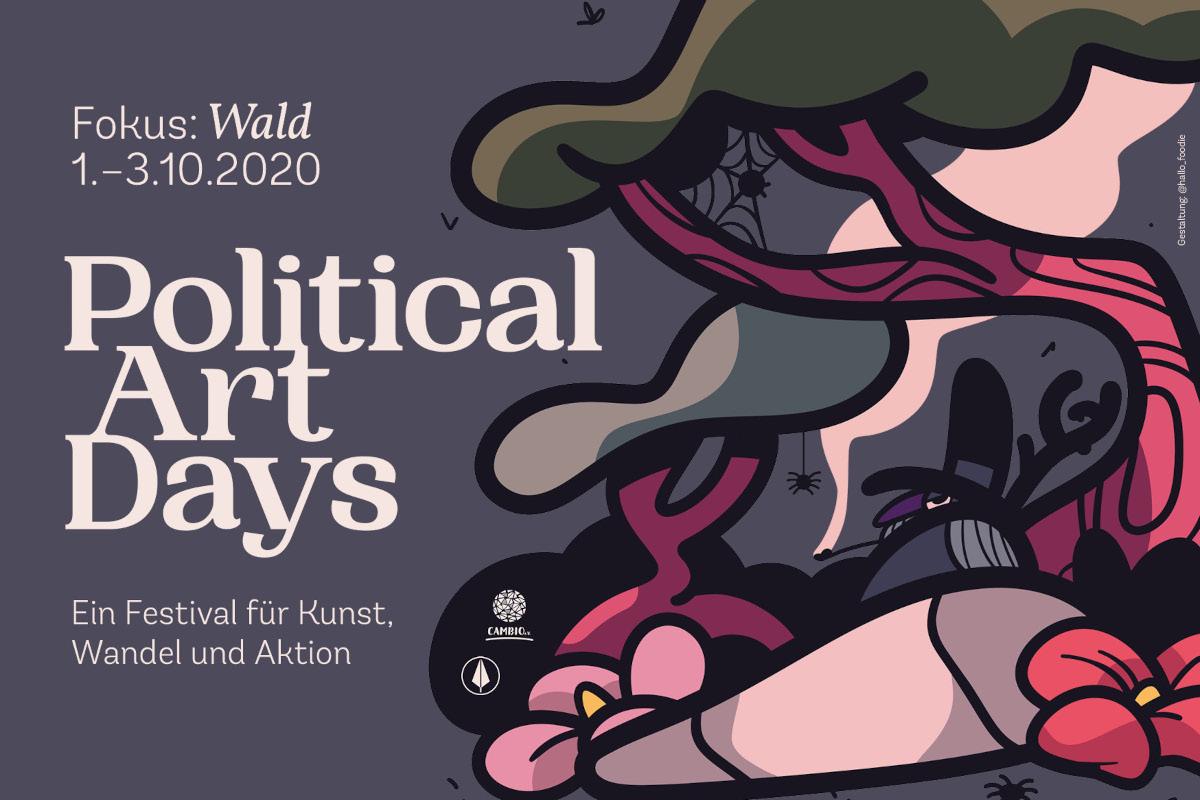 Video: Political Art Days – Fokus: Wald