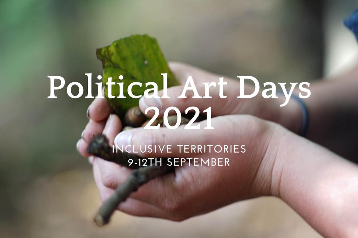 Header Political Art Days 2021
