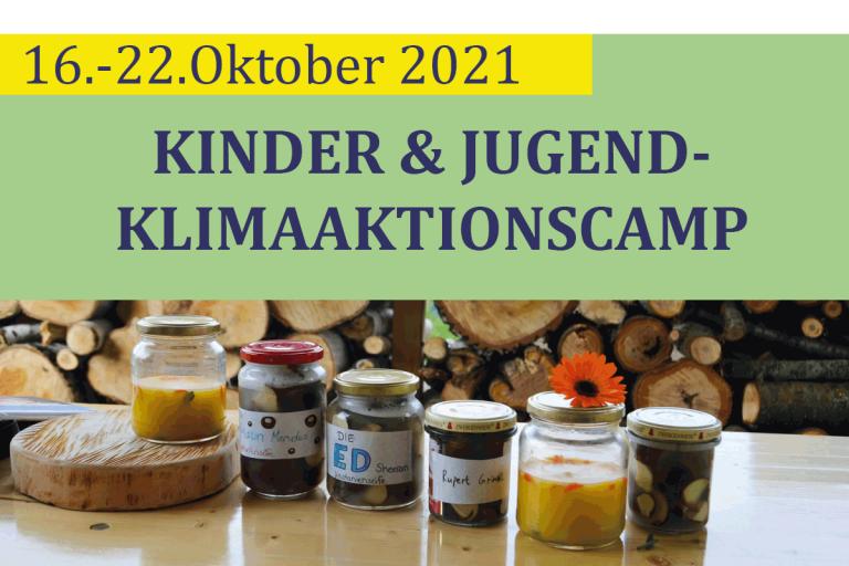 16.10.-22.10.: KiJu-Klima-Aktionscamp